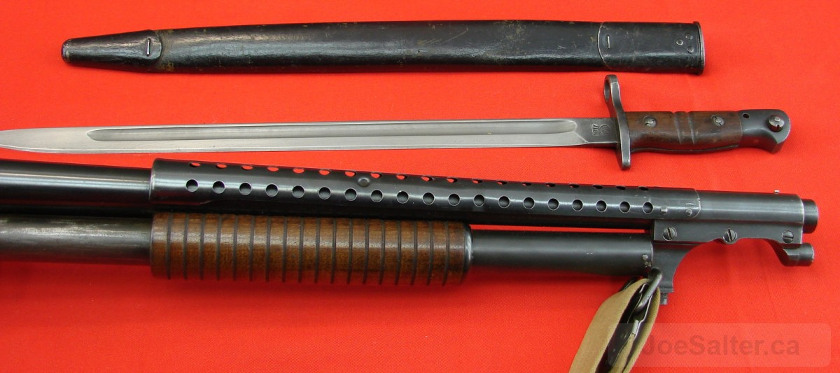 Winchester Model 1897 Trench Gun & Bayonet