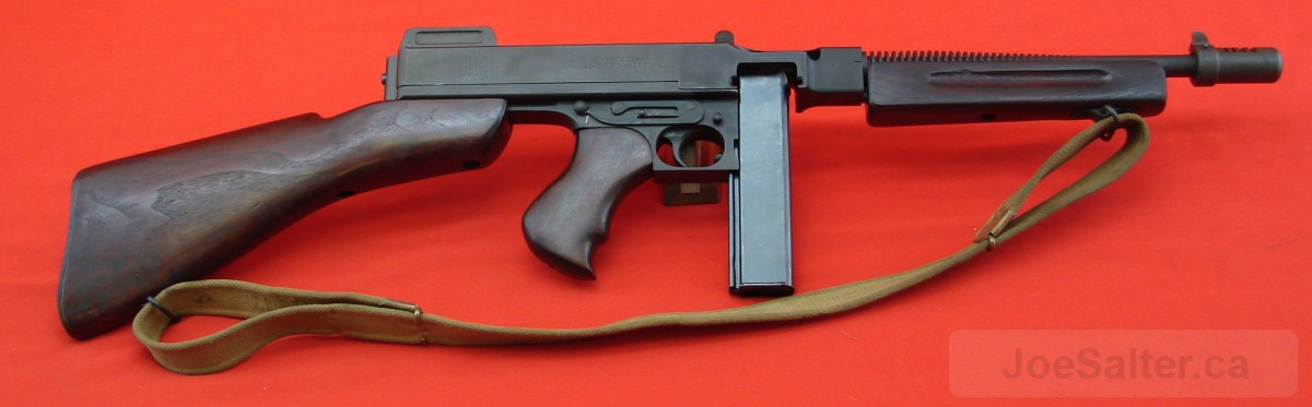 Canadian Thompson 1928-A1 Tommy Gun Marked