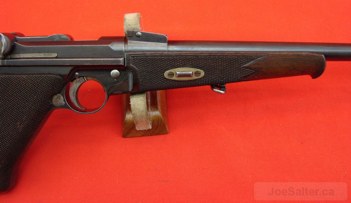 Luger Carbine 1902 P08 Pistol with Stock