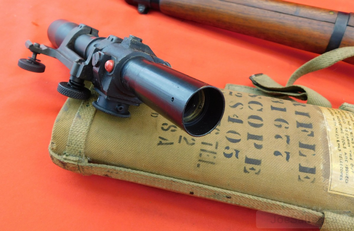 Lee Enfield 303 No  4T Sniper Rifle w/ Scope