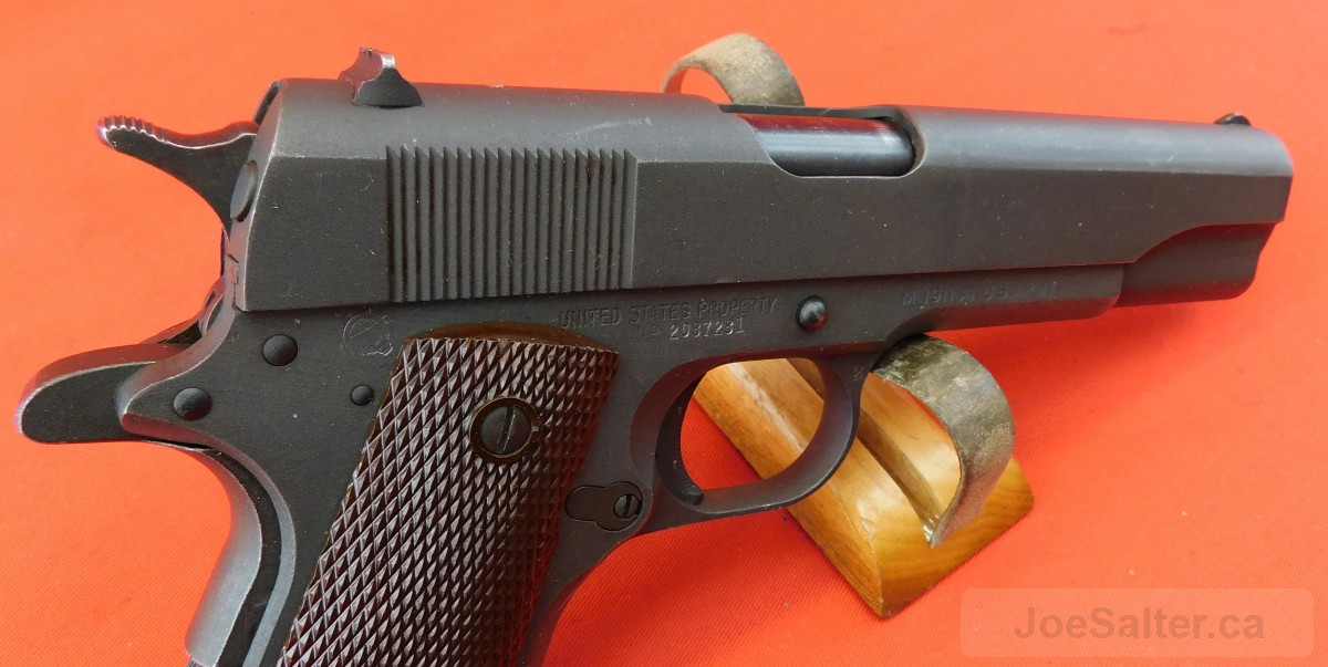 Ithaca 1911 A1 US Army 45 Auto