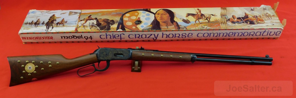 Winchester Chief Crazy Horse Commerative