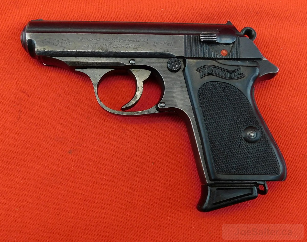 Late War PPK With Scarce Black Grips