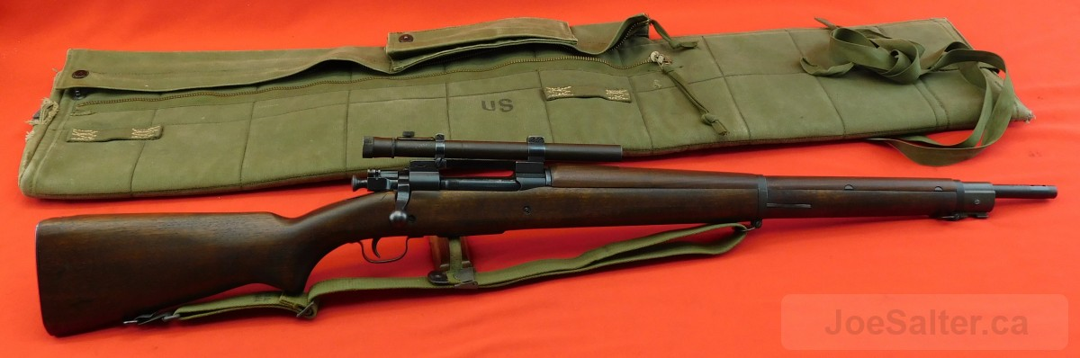 Springfield 1903 A4 Sniper Rifle